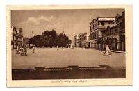 Dschibuti - CPA - Djbouti - der Platz Menelik (J148)