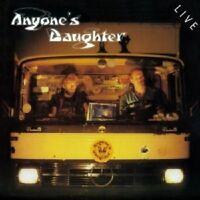 ANYONE'S DAUGHTER - LIVE (REMASTER)  2 CD  20 TRACKS PROGRESSIVE ROCK  NEU
