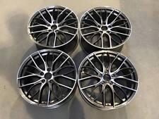 """19"""" Cerchi in lega stile 405M PISTOLA in metallo lavorato BMW serie 3 5 E90 E92 F10 F30"""