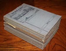 The Blue and Gray Georgetown Prep - 1930s lot of 11
