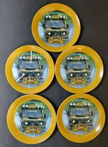 CAMEL Trophy - Lot 5 Coupelle Monnaie Vide poche Cendrier Vintage Plastique