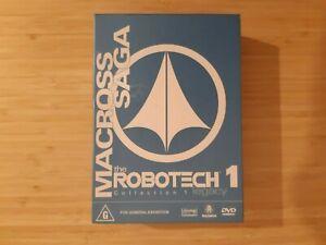 Robotech - Macross Saga - DVD Box 01 (3-Disc Set)