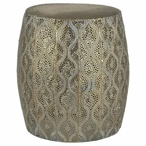 Moroccan Style Antique Global Side Table