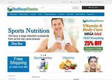 Vitamin products turnkey website for sale - Established Domain & Website