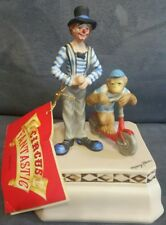 "Willits Designs ""Circus Fantastic"" Ceramic Music Box ~ ""Be A Clown"" ~ Mary Kern"