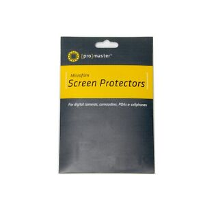 Promaster LCD Screen Protectors Cut to Fit, 4 Pack #2016