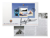 Bloodhound SSC First Day Cover signed by Andy Green (VN95)