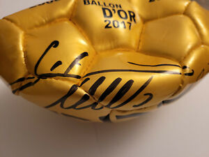 Cristiano Ronaldo Signed Golden CR7 Museum Ball