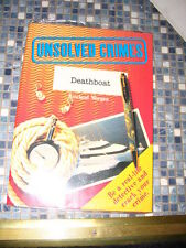 UNSOLVED CRIMES DEATHBOAT DETECTIVE ACTIVITY PACK BRAND NEW