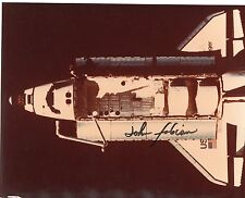 John Fabian Autographed 10 x 8 Nasa Mission Specialist Challenger Shuttle