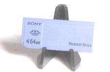 Sony Genuine Memory Stick 64MB MSA-64A Camera Memory Card