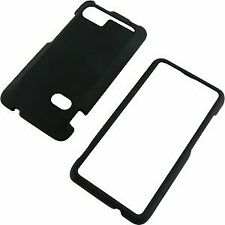 Hard Rubberized Case for HTC Vivid - Black