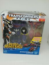 Transformers Prime Beast Hunters Decepticon SHOCKWAVE Hasbro Voyager Class