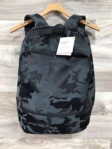 Lululemon City Adventurer Backpack Jacquard Cotton Camo Obsidian JCOB 17L 25046