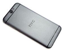 Original HTC A9 Akkudeckel Gehäuse Backcover Battery Cover Kamera Glas Grau