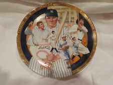 Vintage Baseball The Hamilton Collection Babe Ruth Numbered Yankees Plate