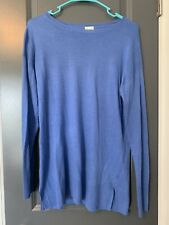 Women's A New Day Blue Long Sleeved Shirt Small