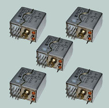 LOT OF 5 RUSSIAN RES22 РЕС22 RELAY 24 VDC NEW OLD STOCK