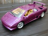 1:18 Purple Lamborghini Diablo Cosmic Girl Jamiroquai JK Chameleon Color Toy Car