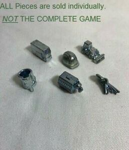 U-PICK Monopoly City Game Pieces Replacement Parts Pieces TOKENS