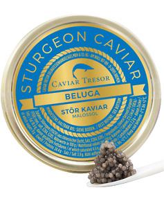 50gr. chin. Beluga (Huso Huso) Kaviar, Caviar, frisch - 2318€/Kg