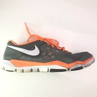 Nike Flex Supreme TR4 Grey White Mens Running Athletic Shoes Size 12 749165-003