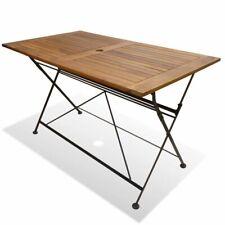 Tables de jardin et terrasse pliable en bois | Achetez sur eBay