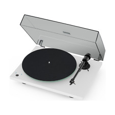 Pro-Ject T1 Phono Turntable White, Open Box