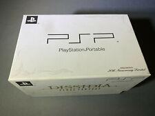 Sony PSP Final Fantasy Dissidia 20th Anniversary White New Open Box
