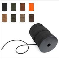 "2-Pack BLACK 19/"" Neck//Pocket Swivel Lanyard 550 Paracord ID Badge Keys Camera"