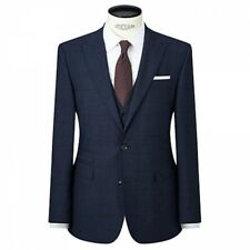 JOHN LEWIS - NEW - Prince of Wales Check Tailored Suit Jacket - Blue / Navy 42 L