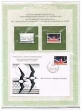 Postmasters FDC, Postfrisse en Sterling Zilveren zegel - Cocos Islands (14)