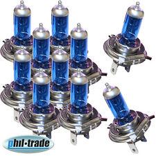 10 Stück LIMA H4 Xenon Look 12V 55W 60W Halogen Lampe super weiss p43t Werkstatt
