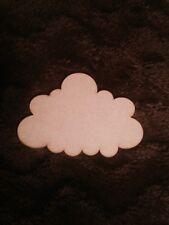 5 Nube De Madera Mdf Craft forma madera en bruto
