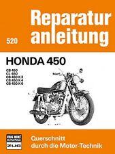 Honda CB 450 CL K3 K4 K6 Reparaturanleitung Reparatur-Handbuch Reparaturbuch POD