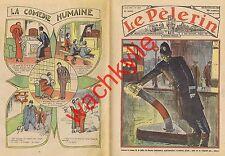 Le pèlerin n°2976 du 08/04/1934 Policemen Bruges-la-Morte Escrime Fleuret Reuche