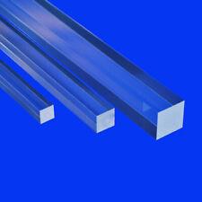Grünke® Acrylglas GS Vierkantstab farblos Länge 1000mm Vierkant Stange 6 - 100mm