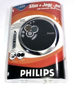 Philips Portable CD Player AX5311 Slim Jogproof With Wearable Remote Sealed