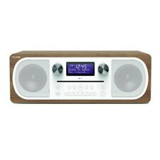 Pure Evoke C-D6 All-in-One System DAB+/FM Digital Radio Bluetooth CD - Walnut