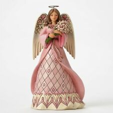 Heartwood Creek Breast Cancer Awareness Angel Hanging Orn., by Jim Shore 4049413