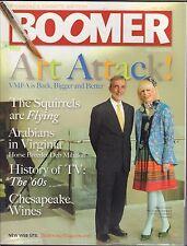 Boomer Magazine April - May 2010 VMFA, Art Attack VG 032916DBE