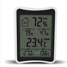 Funk Wetterstation Wireless Innentemperatur Thermometer Hygrometer with LCD