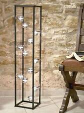 Colonne d'éclairage Porte-bougies 100 cm chandelier pour 12 Bougie chauffe-plat