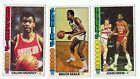 6 card lot - 1976-77 Topps Tall Boys - Calvin Murphy, Mack Calvin... all VG - Ex