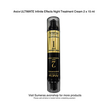 ANEW ULTIMATE Infinite Effects Night Treatment Cream ~ 2 x 15 ml Free P&P