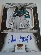 Antti Niemi 2012-13 Rookie Anthology Crown Royale Silhouette Signature Relic