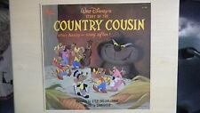 Disneyland Records Walt Disney's Story Of The COUNTRY COUSIN LP 60s