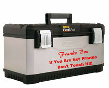 Funny Personalise Sticker Art Tool Box Name Vinyl Makita, Dewalt, Hitachi, Bosch