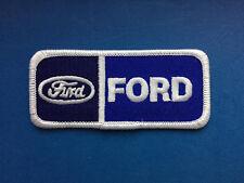 Rare Vintage Ford Car Club Iron On Jacket Hat Cap Coveralls Uniform Patch Crest