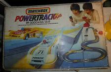 Circuit électrique MATCHBOX POWERTRACK PLUS  , Porsche. Renault, no  jouef